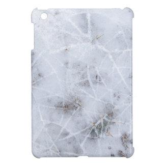 Christmas abstract background ice iPad mini case
