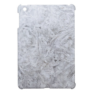Christmas abstract ice background iPad mini cover