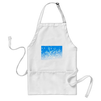 Christmas abstract snow background standard apron
