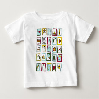 Christmas advent baby T-Shirt