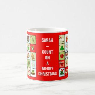 Christmas Advent Calendar Coffee Mug