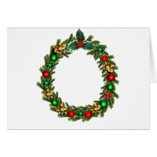 christmas advent decoration card
