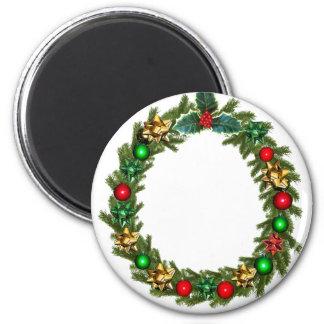 christmas advent decoration magnet