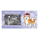 Christmas Akita Inu / Shiba Inu Photo Cards