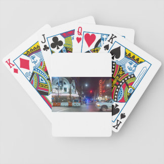 Christmas Alabama and Lyric Theaters Bicycle Playing Cards