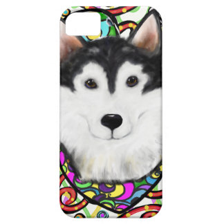 Christmas Alaskan Malamute Case For The iPhone 5