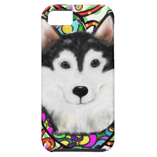 Christmas Alaskan Malamute iPhone 5 Cover