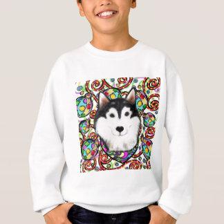 Christmas Alaskan Malamute Sweatshirt