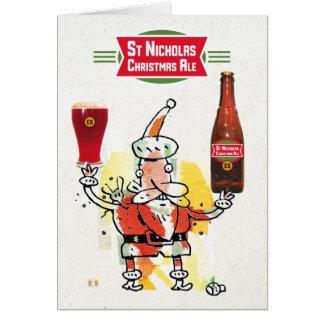Christmas Ale Card