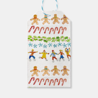 Christmas All is merry and bright wrapping paper Gift Tags