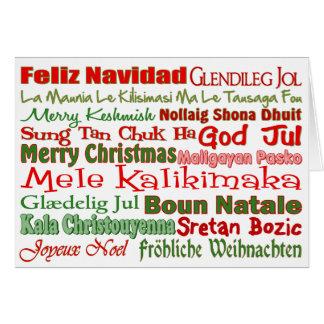 Christmas All Over the World Card