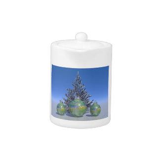christmas and balls and tree