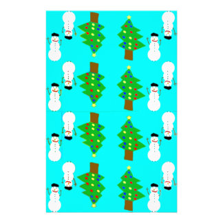christmas and snowman.ai stationery