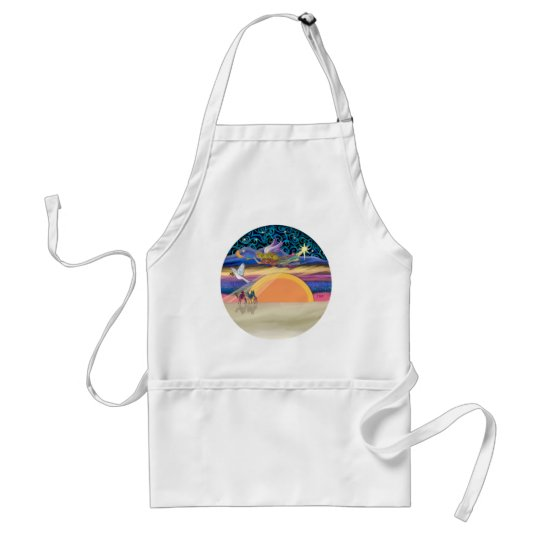 Christmas Angel - Add Your Pet Standard Apron