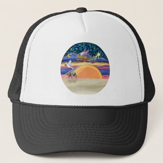 Christmas Angel - Add Your Pet Trucker Hat