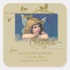 Christmas Angel Blessings Address Label