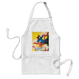 Christmas Angel Cherub Cats Standard Apron