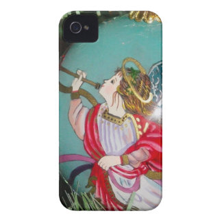 Christmas angel - christmas art -angel decorations Case-Mate iPhone 4 cases