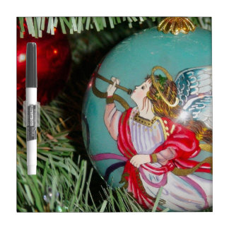 Christmas angel - christmas art -angel decorations dry erase board