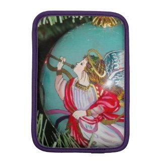 Christmas angel - christmas art -angel decorations iPad mini sleeve
