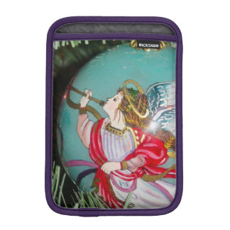 Christmas angel - christmas art -angel decorations iPad mini sleeve