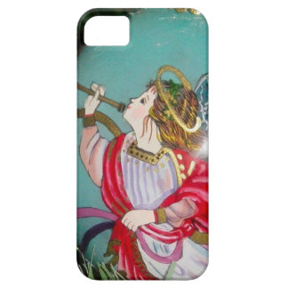 Christmas angel - christmas art -angel decorations iPhone 5 cover