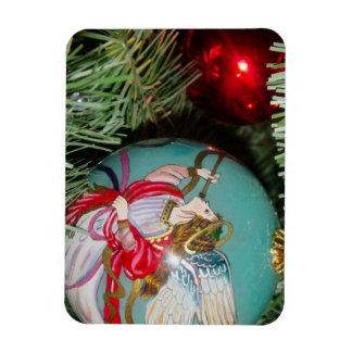 Christmas angel - christmas art -angel decorations magnet