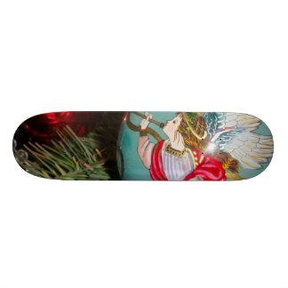 Christmas angel - christmas art -angel decorations skate board decks