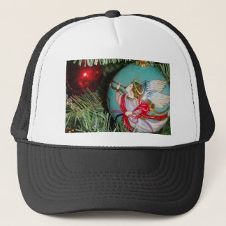 Christmas angel - christmas art -angel decorations trucker hat