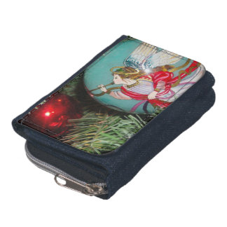 Christmas angel - christmas art -angel decorations wallet