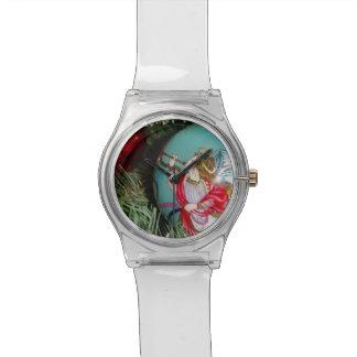 Christmas angel - christmas art -angel decorations watch