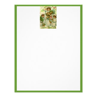 Christmas Angel Custom Letterhead