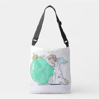 Christmas Angel custom name bags