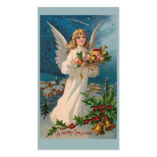 """Christmas Angel"" Gift Tag Business Card"