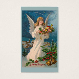 """Christmas Angel"" Gift Tag Business Card"