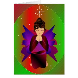 """Christmas Angel I"" Card-Customizable Card"