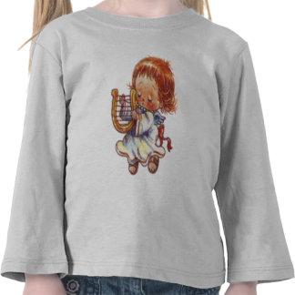 Christmas Angel Long Sleeve Kid s Shirt