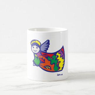 Christmas Angel Basic White Mug