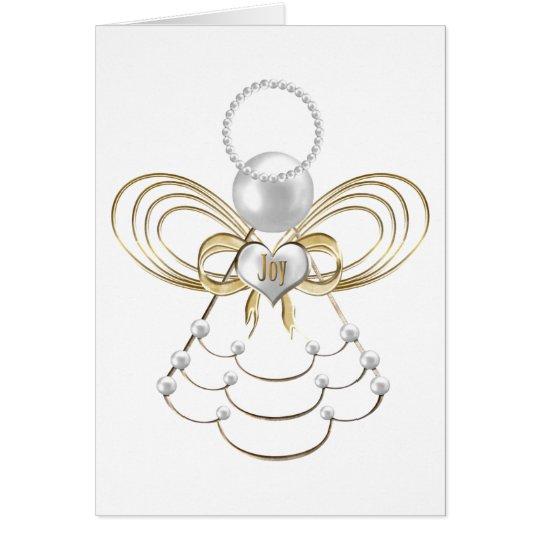 Christmas Angel of Joy Card