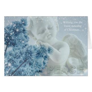 Christmas Angel of Peace Greeting Card