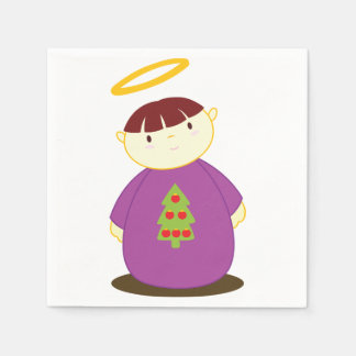 Christmas Angel Paper Napkins