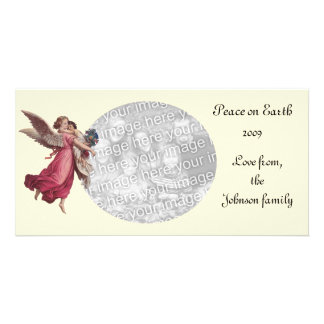 Christmas Angel Photo Greeting Card