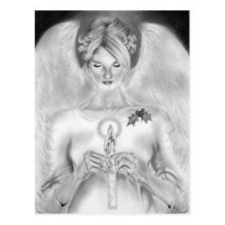 Christmas Angel Postcard