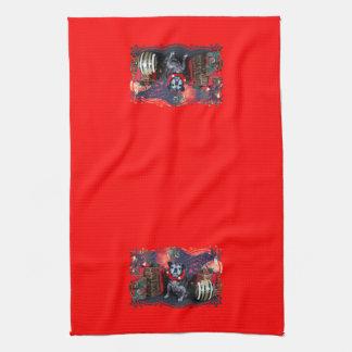 Christmas - Angel - Pug Towel