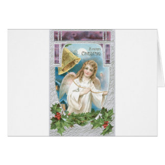 Christmas Angel ringing a bell Cards