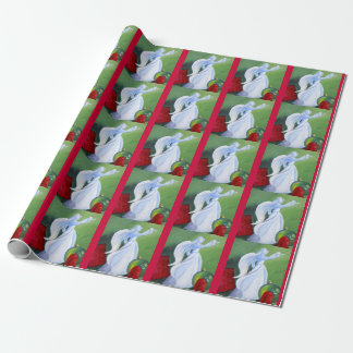 Christmas Angel Wrapping Paper