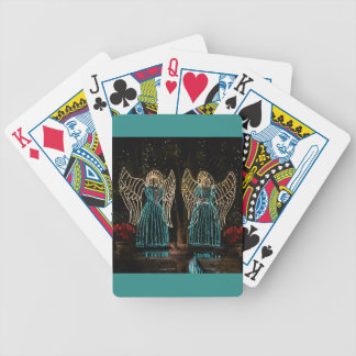 Christmas Angels 2016 Bicycle Playing Cards