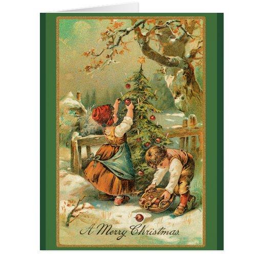 Christmas Apples Big Card