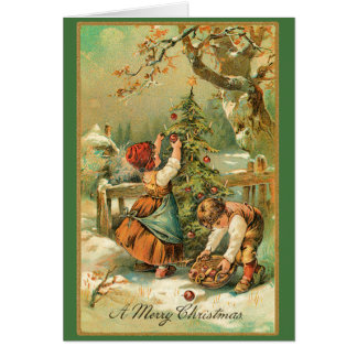 Christmas Apples Card