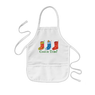 Christmas Apron for Kids - Gingerbread man